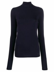 Karl Lagerfeld Karl x Carine turtleneck top - Black