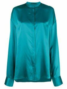 Haider Ackermann loose fit shirt - Blue