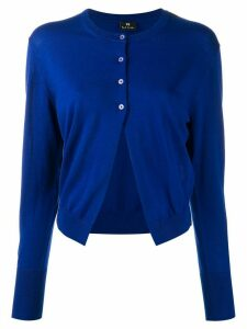 PS Paul Smith round neck cardigan - Blue