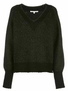 Veronica Beard V-neck sweater - Black