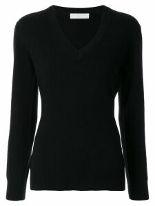 Fabiana Filippi v-neck fitted jumper - Black