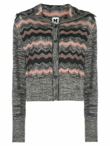 M Missoni zigzag knit cardigan - Blue