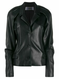 Chalayan narrow lapel jacket - Black