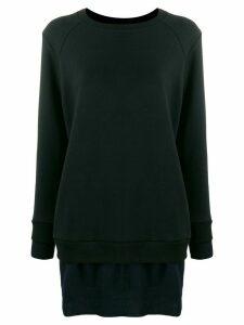 Undercover oversized plain sweatshirt - Black