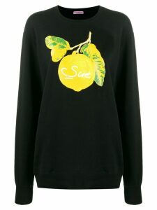 Undercover lemon-print sweatshirt - Black
