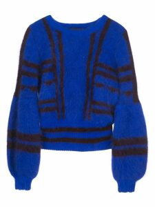 Cynthia Rowley Willa intarsia sweater - Blue