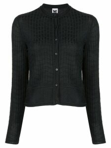 M Missoni textured cardigan - Black