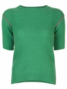 Marni knitted T-shirt - Green