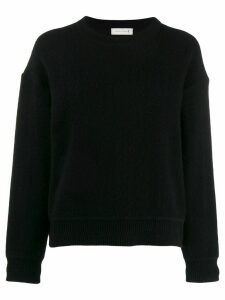 Mackintosh Black Cashmere Blend Crewneck Sweater WCS-1003