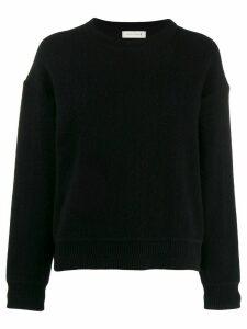 Mackintosh Black Cashmere Blend Crewneck Sweater WCS-1003