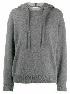 Mackintosh Grey Cashmere Blend Hooded Sweatshirt WCS-1004