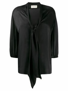 Alexandre Vauthier relaxed shape blouse - Black