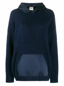 Semicouture Amelie hoodie - Blue
