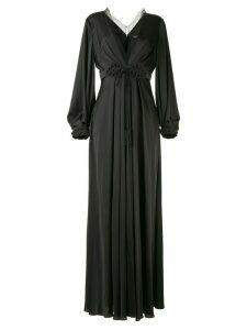 Paule Ka Raso plunge-neck gown - Black
