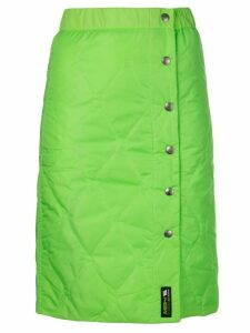 MISBHV Europa quilted pencil skirt - Green