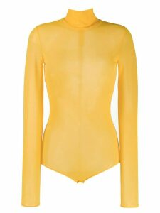 Maison Margiela turtle neck body - Yellow