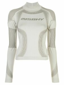 Misbhv Active slim-fit sweatshirt - Grey