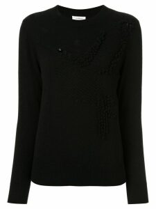 Onefifteen textured knit jumper - Black