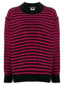 Junya Watanabe two-tone stitch jumper - Black