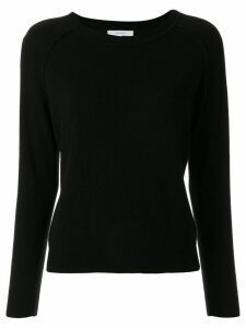 Venroy cashmere raglan sleeves jumper - Black