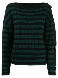 LIU JO striped jumper - Green