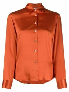 Blanca Vita button-up shirt - ORANGE