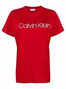 Calvin Klein logo print T-shirt - Red