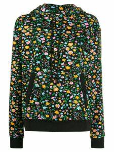 Levi's floral print hoodie - Black