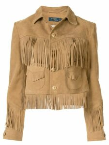 Polo Ralph Lauren fringed jacket - Brown