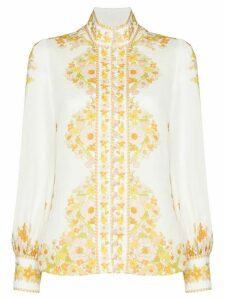 Zimmermann floral print shirt - Green