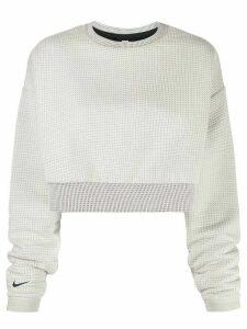 Nike matelassé sweatshirt - White