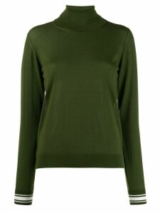 Golden Goose Ajisai turtle neck knitted jumper - Green