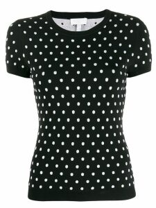 Escada Sport polka-dot knit top - Black