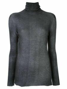 Avant Toi cashmere turtle-neck top - Grey