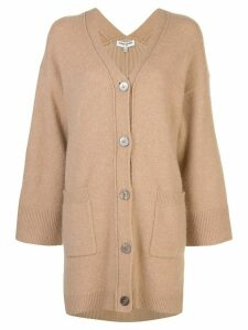 Opening Ceremony cashmere oversized cardigan - Brown