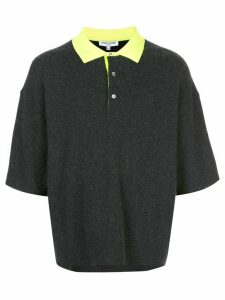 Opening Ceremony colour-block polo shirt - Grey