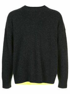 Opening Ceremony colour-block jumper - Grey