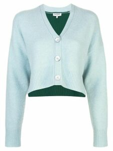 Opening Ceremony cashmere cropped cardigan - Blue