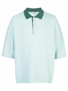 Opening Ceremony contrast-collar polo shirt - Blue