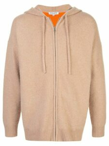 Opening Ceremony colour-block drawstring hoodie - Neutrals