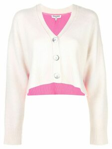 Opening Ceremony contrast long-sleeve cardigan - White