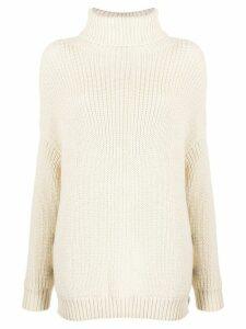 Mara Hoffman side buttoned sweater - NEUTRALS