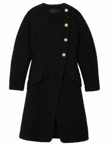 Proenza Schouler Boucle tweed coat - Black