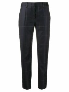 Paul Smith tailored checked trousers - Blue