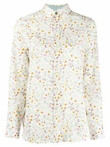 Paul Smith all-over print shirt - White