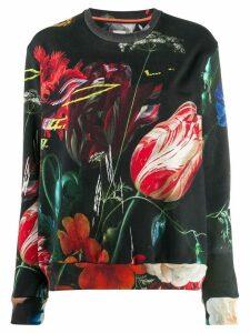 Paul Smith floral print sweatshirt - Black