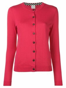 Paul Smith slim fit cardigan - PINK