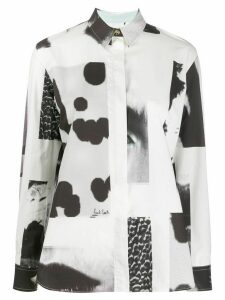 Paul Smith printed shirt - White