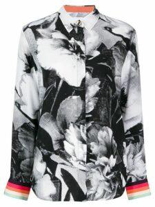 Paul Smith floral print shirt - Black