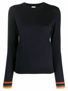 Paul Smith long sleeve knit jumper - Blue